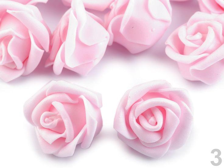 Dekorace růže Ø4 cm
