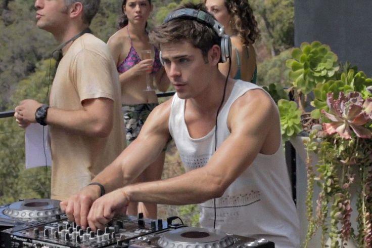 La nueva película de Zac Efron siendo DJ te dice que sólo necesitas un track para ser famoso - Ultramarinos