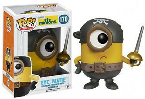 Figura de Vinil #Minions #EyeMate de 9 cm. #Banana