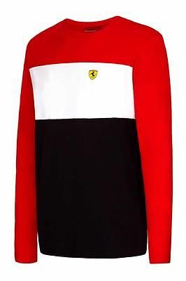 Ferrari #formula one f1 team race t-shirt long #sleeve #block mens s-xxl,  View more on the LINK: http://www.zeppy.io/product/gb/2/182348270761/