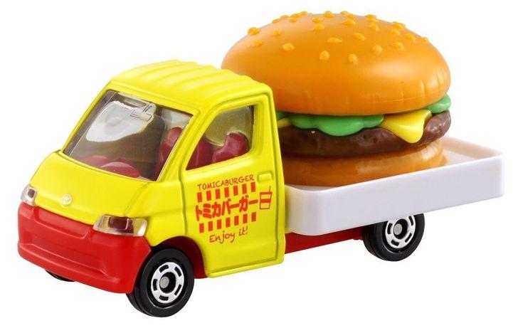 Takara Tomy Tomica Series No.54 Toyota Townace hamburger car Japan #TAKARATOMY