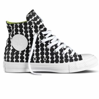 Marimekko R�symatto Black/White Converse Shoes - Click to enlarge