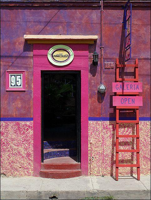 Ajijic, Jalisco, Mexico door
