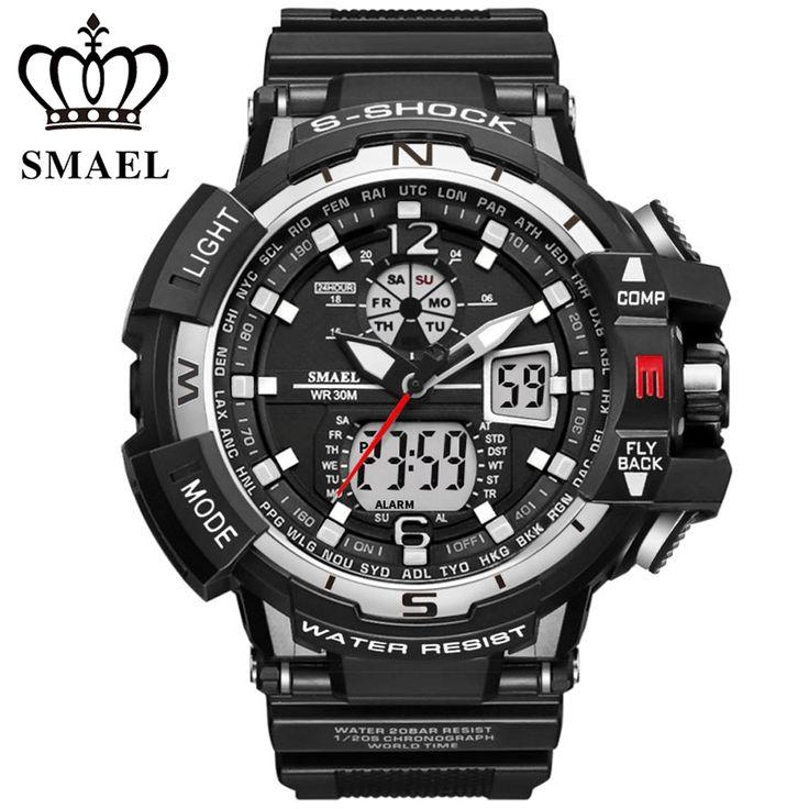 19.36$  Watch here - New G Style Digital Watch S Shock Men Military Army Fashion Watch Waterproof Date Calendar LED Sports Watches Relogio Masculino  #magazineonline