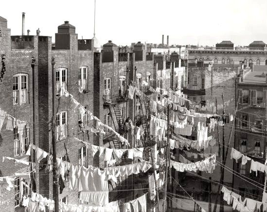 Tenements in NYC circa 1900