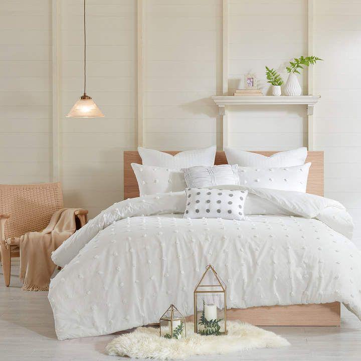Madison Park Maize Cotton Jacquard Comforter Set Comforter Sets Duvet Cover Sets Bedding Sets