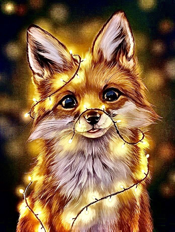 Pin By Chicken Nugget On Animal Wallpaper Cute Cartoon Animals Cute Animal Drawings Cute Fantasy Creatures
