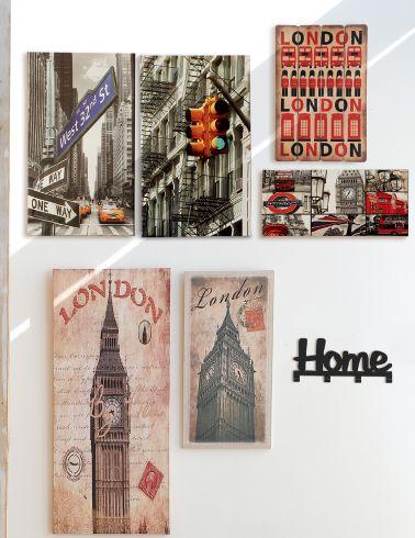 ¡Vintage London en tu pared! En #Easy tenemos cuadros con los mejores diseños de UK.  #London #Deco #Vintage #British #EasyTienda #TiendaEasy