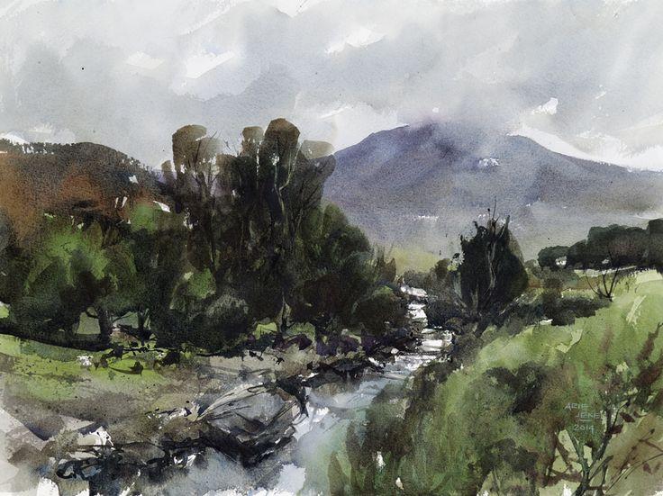 Arie Jekel | Irish Stream | Watercolor