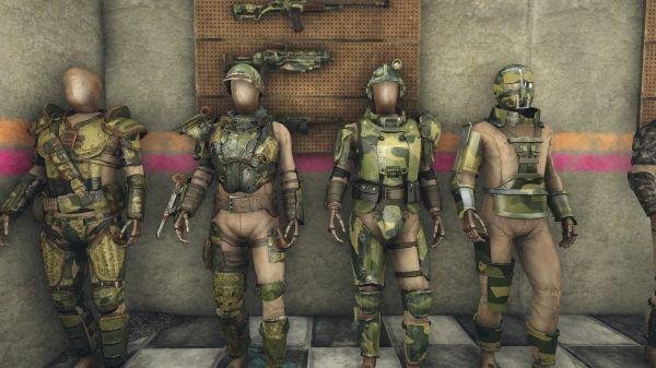 Fallout 4 Military Armor Mod idea gallery