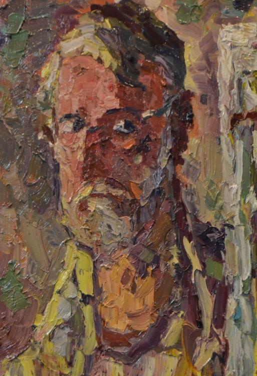 Autoportret – Virgiliu Parghel  3,220.00lei  Autor: Virgiliu Parghel Titlu: Autoportret Tehnică: ulei/pânză Dimensiuni (h x l): 60 x 40 (cm) Preţ: 3220 lei