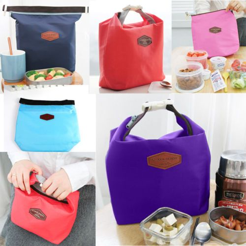 Thermal Insulated Lunch Box Cooler Bag Tote Bento Pouch Container Storage Bag | eBay