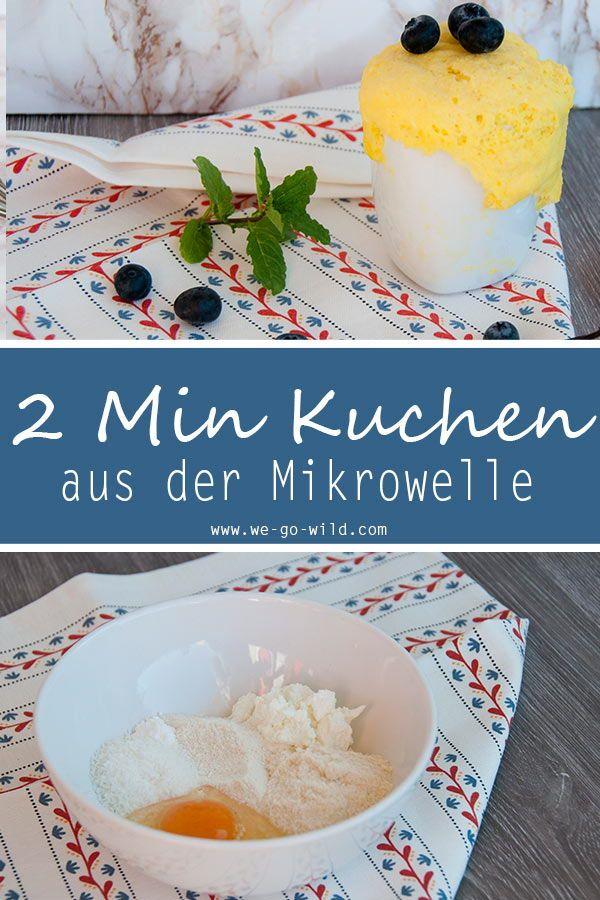 2 Minuten Protein Tassenkuchen Aus Der Mikrowelle Platzchen