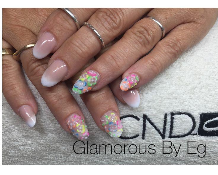 Summer nails ☀️  CND acrylic