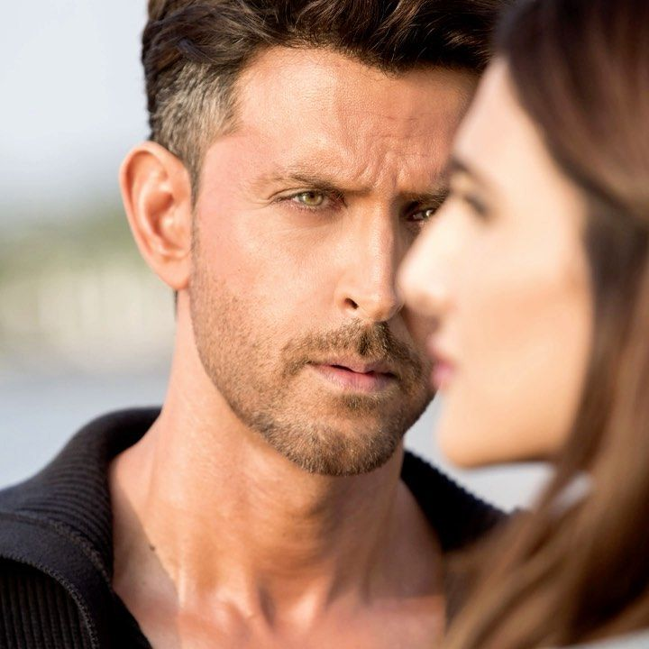 He Looks At Her Searching Within That Lost Feeling He Is Not Himself He Feels It Yet Denies It Hrithik Roshan Hairstyle Hrithik Roshan Bollywood Actors