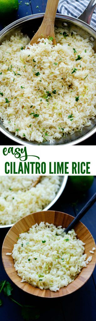 This rice pairs perfectly with any Mexican food!