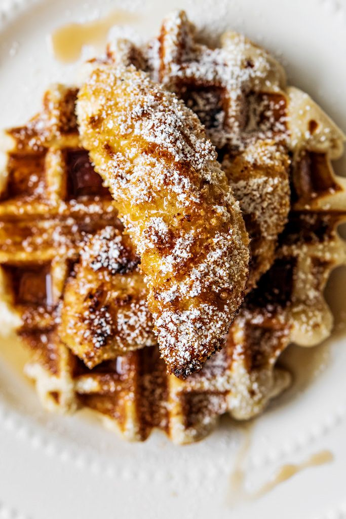 chicken and eggnog waffles waffles waffles egg waffles gf chicken ...