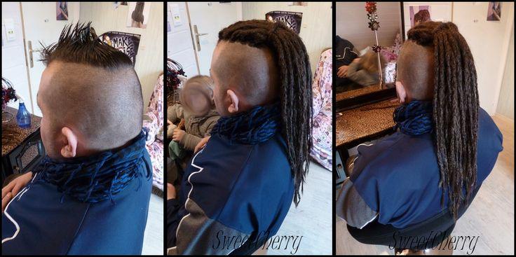 Pose de dreads sur cheveux très courts, mais attention ça ne tient pas longtemps, il faut avoir au minimum 6-7 cm de cheveux pour que ça dure.