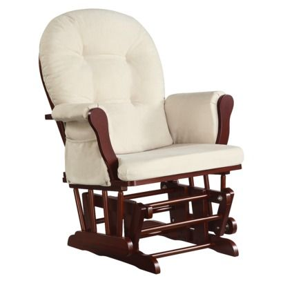 Dorel Asia Glider Rocker Chair in Cherry....I really really want this ...