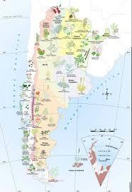 Resultado de imagen para especies exoticas en mapa de la argentina