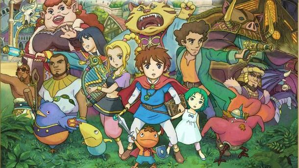 Ni No Kuni Wrath of the White Witch. Love this game ♥