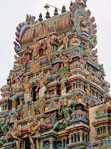 Hindu Temple, Matunga, Mumbai, India