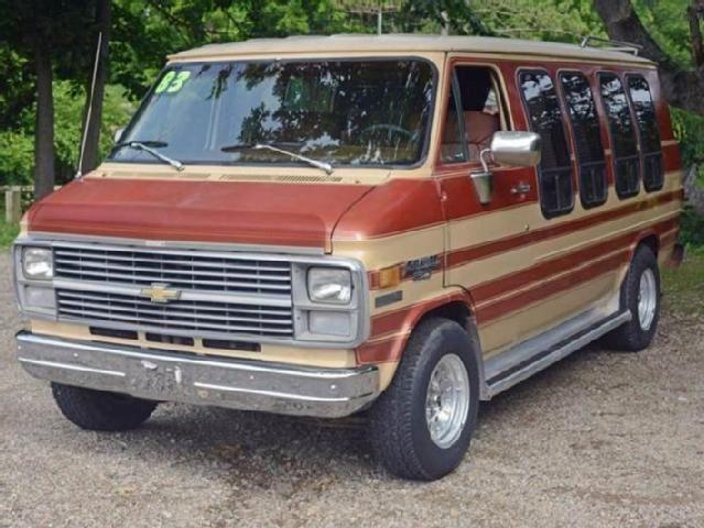 Chevrolet Van 1983 1983 Chevrolet Chevy Van 3dr G20 Cargo Van Chevrolet Van Chevy Van Van