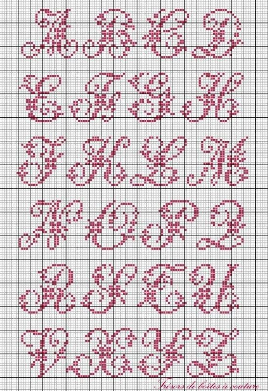 Knitting Cursive Letters : Best images about cross stitch and blackwork alphabets