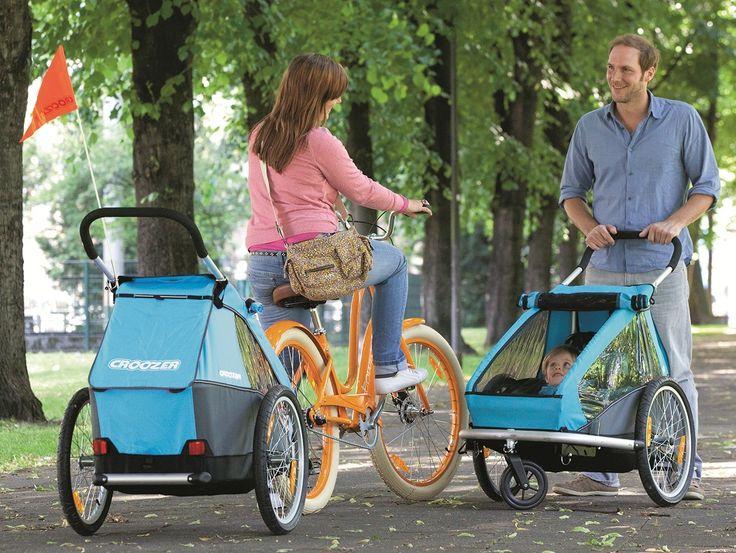 Croozer Kid to 1 sprzęt a 3 możliwości: wózek spacerowy, przyczepka rowerowa i wózek do joggingu. Jeśli chcielibyście zabrać to cudo na urlop lub spędzić aktywny weekend zapraszamy na www.planetarodzina.pl :-)