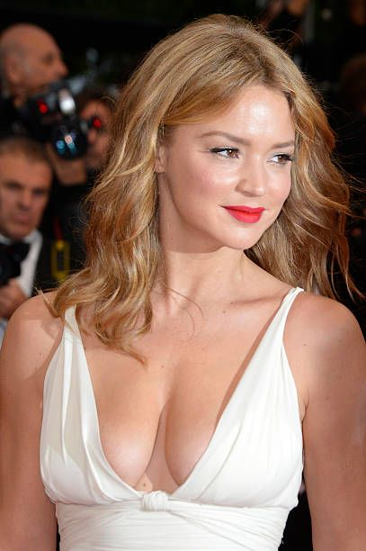 Virginie Efira arrives at the Therese Desqueyroux Premiere during the 65th Cannes Film Festival