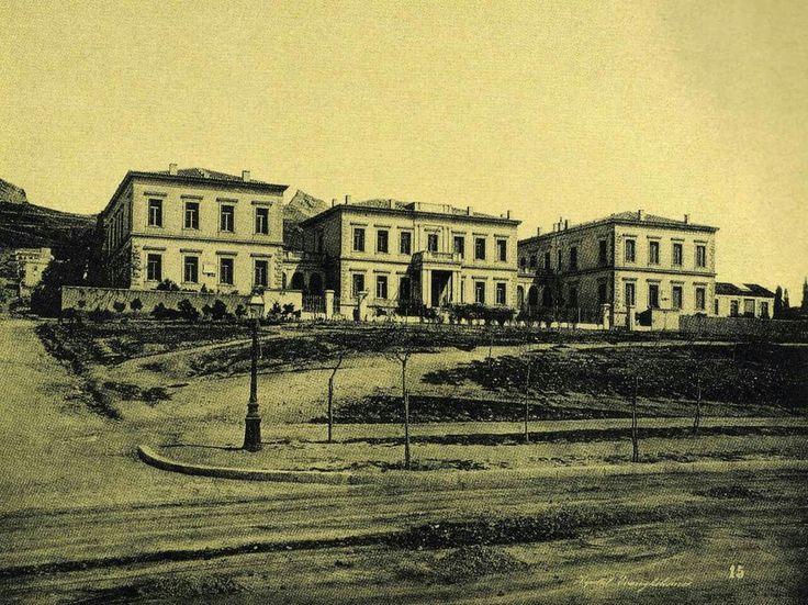 1890 ~ Evangelismos Hospital in Athens