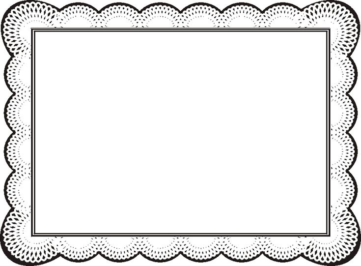 Free Certificate Borders For Word Clipart Best Free