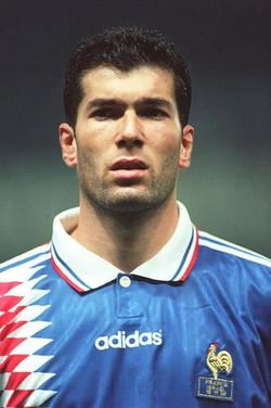 Zinedine #Zidane of #France