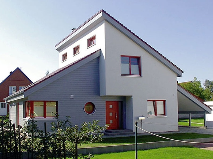 37 best pultdachhaus images on pinterest for Grundrissplanung haus