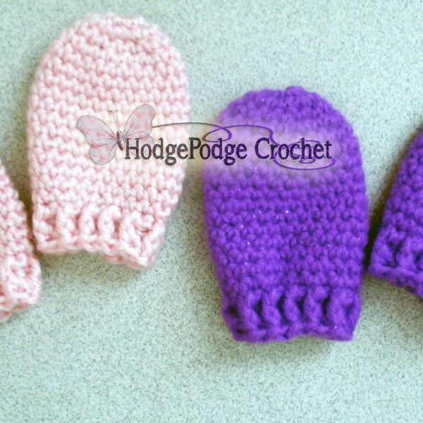 Free Crochet Pattern For Baby Scratch Mittens : 445 best images about Oh Baby! Crochet! on Pinterest ...