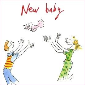 Quentin Blake baby drawing!