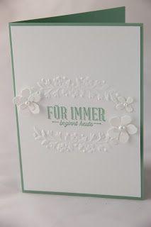 Das sind zwei Worte, die so eng mit einer Hochzeit verknüpft sind, dass sie natürlich auch auf die Hochzeitskarte dürfen.       Die heutig...