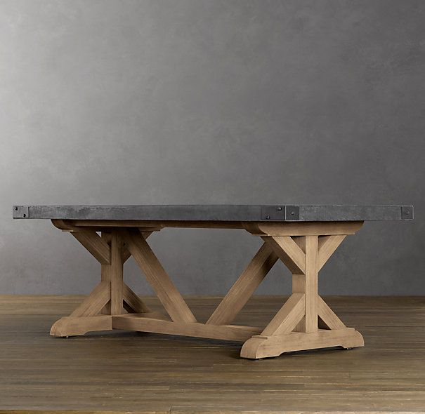 Superieur Concrete Rectangular Dining Table
