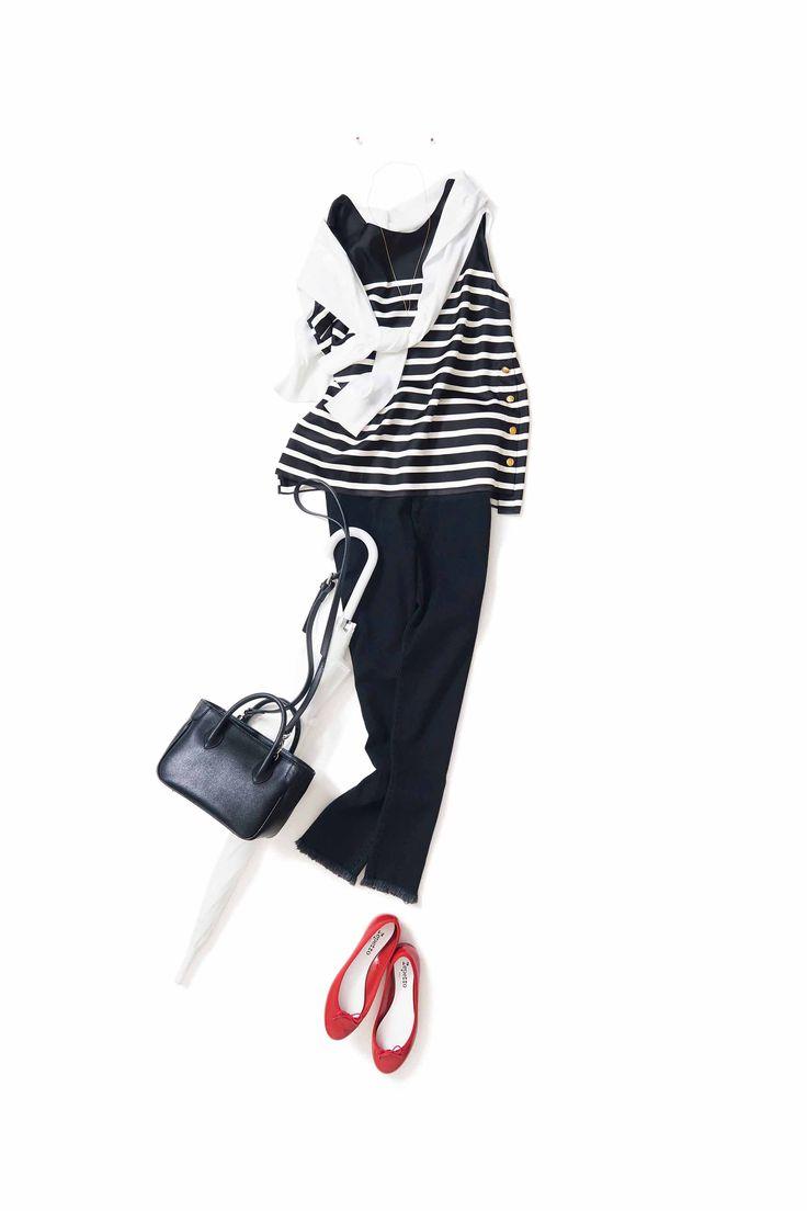 白×黒×赤deトリコロール