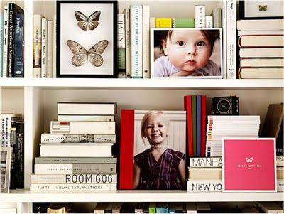 note to self: organize bookshelf like this