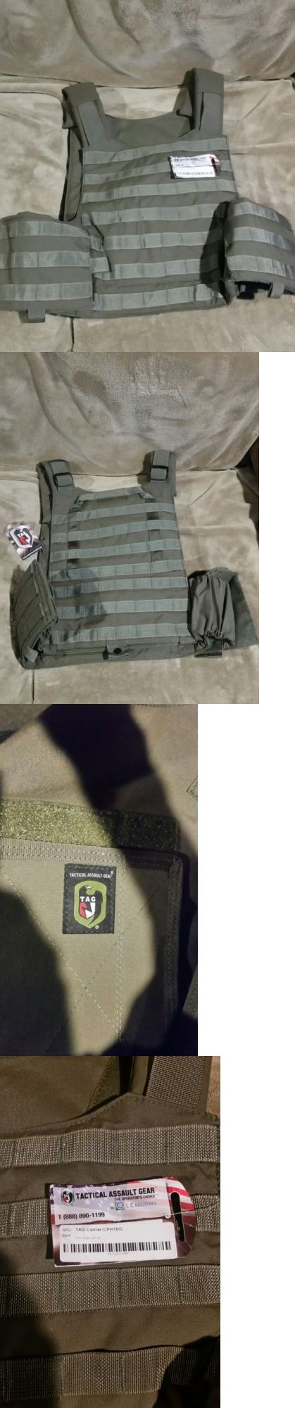 Body Armor and Plates 102537: Tag Tactical Assault Gear Plate Carrier In Ranger Green New -> BUY IT NOW ONLY: $150 on eBay!
