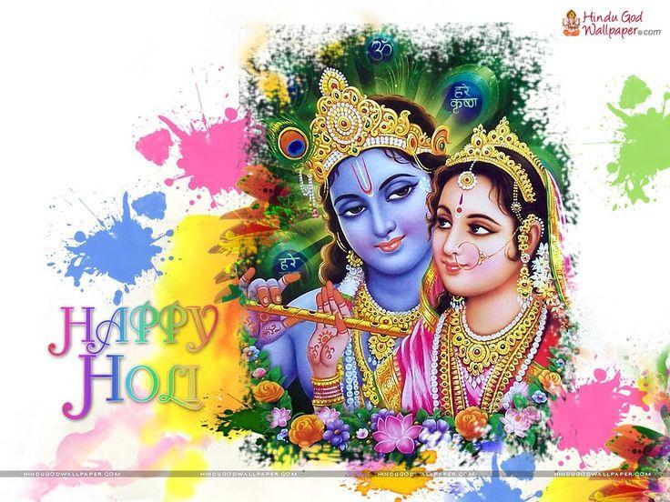 Krishna Holi Wallpapers and Photos