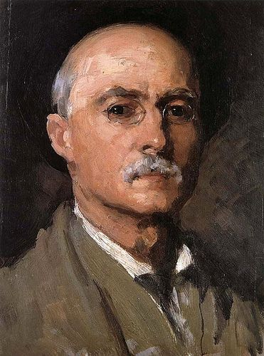 Grigorescu, Nicolae (1838-1907) - 1888 Self-Portrait (Museum of Art Bucharest, Romania)