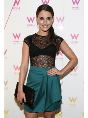 The Dos and Don'ts of Wearing a Bra Jessica Lowndes DON'T: Wear a bra under a very sheer lace shirt.