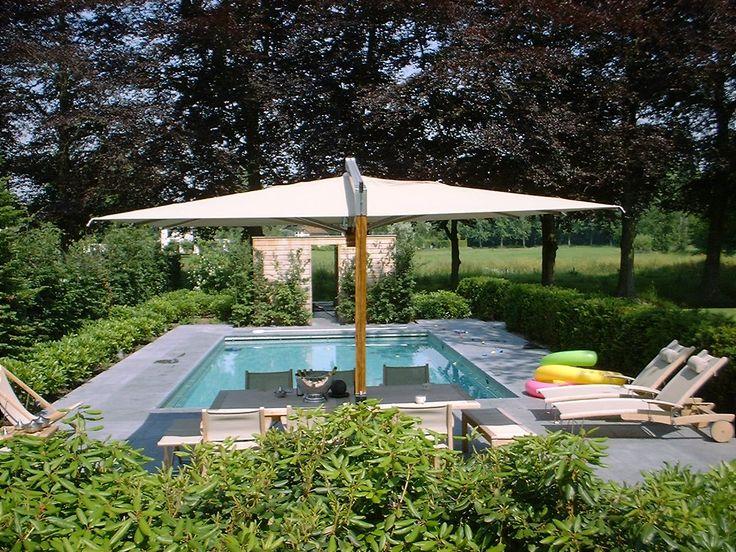 25 beste idee n over zwembad ontwerpen op pinterest for Zwembad achtertuin