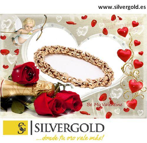Mirar esta estupenda pulsera de oro 18 Kt., la podreis encontrar en www.silvergold.es, además tenemos mas de 5000 joyas con hasta un 80 % de descuento, no te lo piedras