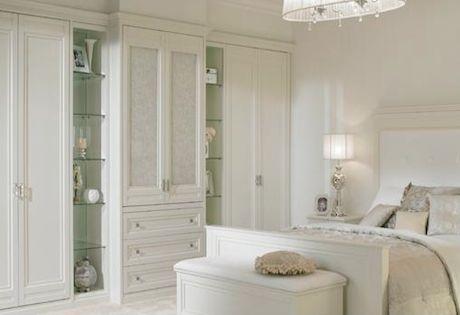 Hammonds Palladian Painted White Bedroom