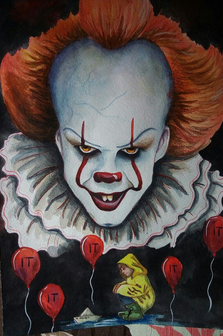 How To Draw Pennywise Scary