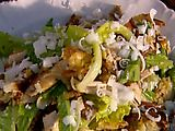 The best chicken caesar salad...  Jamie Oliver's recipe--it be done propa