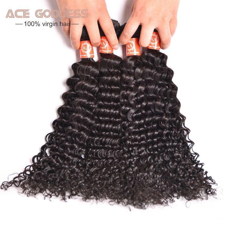 Virgin Malaysian Curly Hair Deep Wave Virgin Hair 4 Bundles 8A Malaysian Deep Curly Virgin Hair Cheap Human Hair Extensions